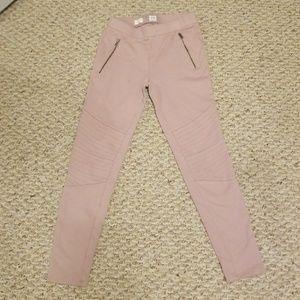 Gap pink leggings size 12